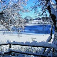 Salinensee im Winter